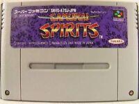 Super Famicom Samurai Spirits Japan SFC SNES