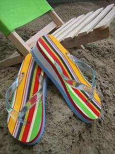 Tongs Sandales Mocassins de Piscine Chaussons Neuf Multicolore Vente Spéciale