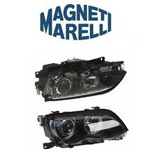 For BMW E46 325i 330i Set Of 2 Bi-Xenon Headlight Assembly OEM Magneti Marelli