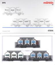 Märklin HO #47896 Henkel Freight 3 Car Set, LN/BX Sold 1999 only