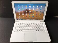 """Apple MacBook Unibody C2D 2.4GHz 13"""" 500GB SSD Hybrid+12GB+Current OS X+1Yr Wrty"""