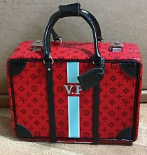 VIOLAINE PERRIN A Fashionable Legacy MONOGRAMMED SUITCASE Fashion Royalty NUFace