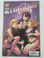 DANGER GIRL #3 (1998) CLIFFHANGER IMAGE COMICS J. SCOTT CAMPBELL ART! MOVIE!