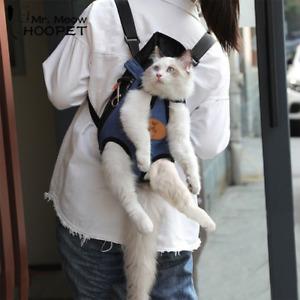 Hoopet Pet Cat Carrier Bag Dog Backpack Breathable Pet  Shoulder Puppy Carrier