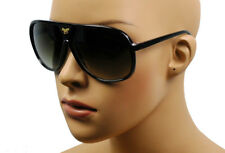 NEW MEN'S OR WOMEN'S RETRO SPORT FASHION AVIATOR SHADES SUNGLASSES BLACK KS-024