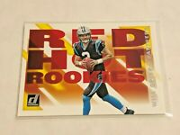 2019 Panini Donruss Football Red Hot Rookies - Will Grier RC - Carolina Panthers