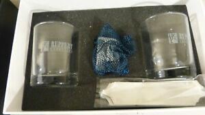 Whiskey Glass Box Set - Two Glasses and Whiskey Stones