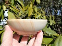 LARGE SAND STONE BOWL Carved-Uses: Jewelry-Incense-Other Gems