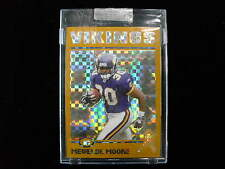 2004 Topps Chrome Mewelde Moore gold refractor rookie card 83/279