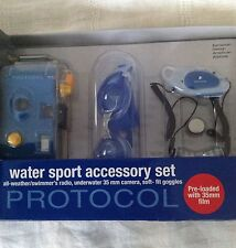 New Protocol Water Sport Accessory Set, All Weather Radio Camera & Goggles New!