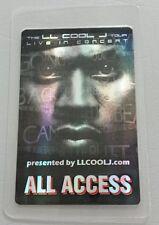 Ll Cool J Laminated Backstage Pass Aa Hologram