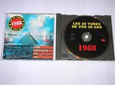 CD / LES TUBES DE VOS 20 ANS / 1988 / SUPER COMPIL / EXCELLENT ETAT