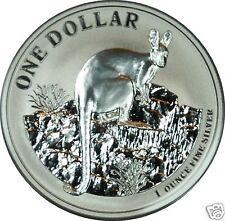 1 AU Dollar Silber Känguru 2010 Kangaroo 1 OZ Silver