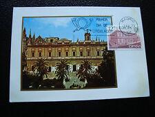 spain - card 1st day 2/5/1978 (2eme choice Card yellowed) (cy24) spain
