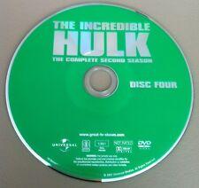 THE INCREDIBLE HULK SEASON 2 DISC 4 REPLACEMENT DVD