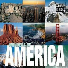 WONDERS OF AMERICA - Cube Book by White Star Publishers 2010