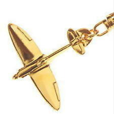 Spitfire Key Ring with Gold Plated finish