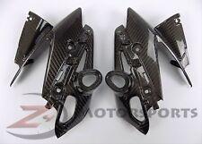 2011-2013 FZ-8 Fazer Upper Front Nose Side Turn Signal Fairing Cowl Carbon Fiber
