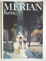 Reisemagazin MERIAN.  KRETA    Heft 2 /1990   43.Jahrgang