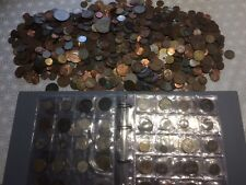 More details for job lot of old coins  from world 4.9 kg plus folder of coins