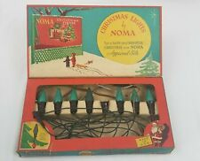 Antique Christmas Lights by Noma - 1936 - 3 Sets Of Lights (Parts Only)