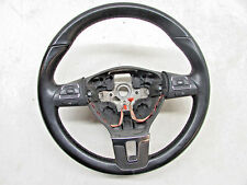 2010 VW JETTA STEERING WHEEL BLACK LEATHER 5C0 419 091 K OEM 10 11 12 13 14