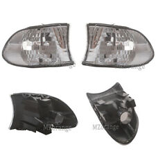 For BMW E38 99-01 7-SERIES 740i 740iL 750iL Corner Lights Turn Signal Clear Lens
