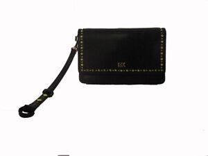 Michael Kors Black Leather Clutch MSRP $94.00