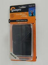 New Lowepro Leather Camera Case Black Napoli 10