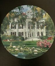 THE GREEK REVIVAL PLATE 1989 KNOWLES BY ROBERT McGINNIS HOME SWEET HOME # 2575A
