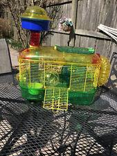 2 Floor dwarf hamster cage