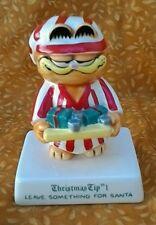 Garfield Christmas Tip #1 Figurine Jim Davis 1981