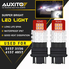 AUXITO 2X 3157 3156 3457 Back up Reverse Light LED Tail Bulbs Lamp For Ford EDO