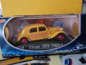 CITROEN  TRACTION 15CV PINDER- SOLIDO 4554- 1/43