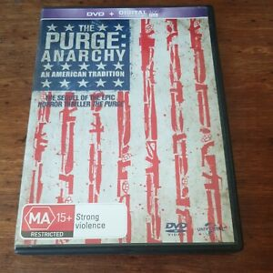 The Purge ANARCHY DVD R4 Like New! FREE POST