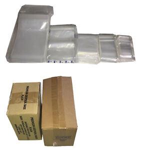 100 1000 2000 Grip Seal Bags 38mu Polythene Poly Plastic Zip Lock *All Sizes*