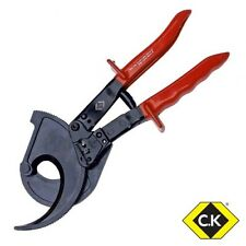 Ck heavy duty ratchet cable wire cutter 36mm SWA/52mm cuivre/aluminium T3678