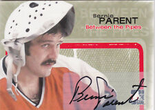 05-06 ITG Bernie Parent Auto Between The Pipes Flyers 2005