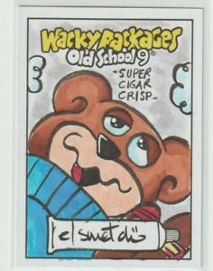 Wacky Packages Old School 9 Sketch Card