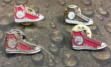 Lot of 4 Sneaker Shoe pin badges
