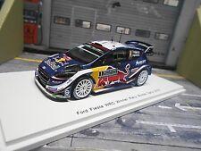 FORD Fiesta New WRC 2018 Rallye Monte Carlo #1 Ogier Red Bull MS-RT Spark 1:43