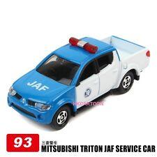 Set of 4 Takara Tomy Tomica Diecast Bx093-mitsubishi Triton JAF Service Diecas