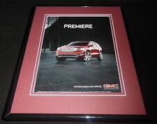 2016 GMC Acadia 11x14 Framed ORIGINAL Advertisement