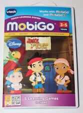 Vtech MobiGo Touch Learning System Disney Jake and the Never Land Pirates