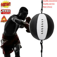 PU Leather Double End Dodge Speed Ball MMA Boxing Gym Floor to Ceiling P Bag W