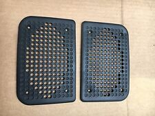 Porsche 944 Turbo 944 S2 - Set of Black Plastic Speaker Grill Covers