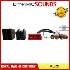 CT20AU11 Fully Amplified System Wiring Harness Adaptor For Audi A2 A3 A4 A6 A8