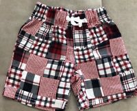 Gymboree Shorts Size 12-18 Month Toddler Red White Blue
