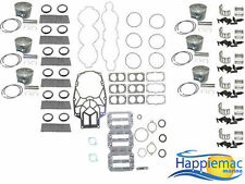 Mercury 3.0L 225 250 HP V6 EFI Carb Powerhead Rebuild Kit Piston Gasket O-RIng