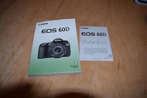 CANON EOS 60D DIGITAL CAMERA OWNERS INSTRUCTION MANUAL -DSLR